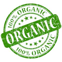 Organic certification seal